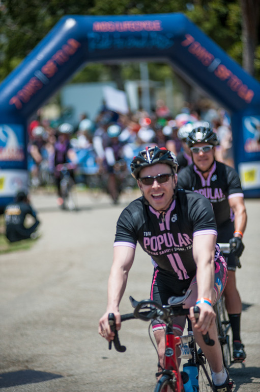 David Rae Financial Planner Aids Life Cycle Finish Line Fundraising